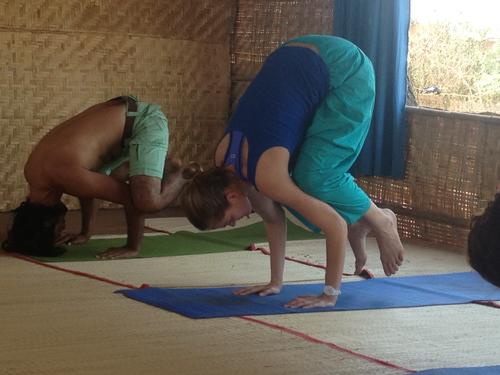 Ashtanga yoga teacher training at Ek Omkar Yoga & Meditation center