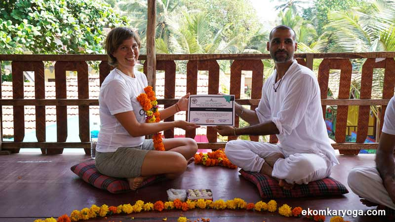 200 hours Yoga TTC Goa review