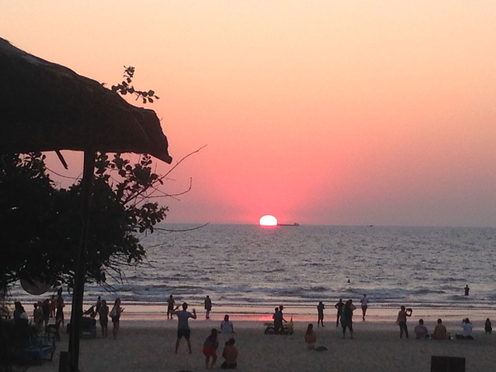 Sunset At Arambol Beach