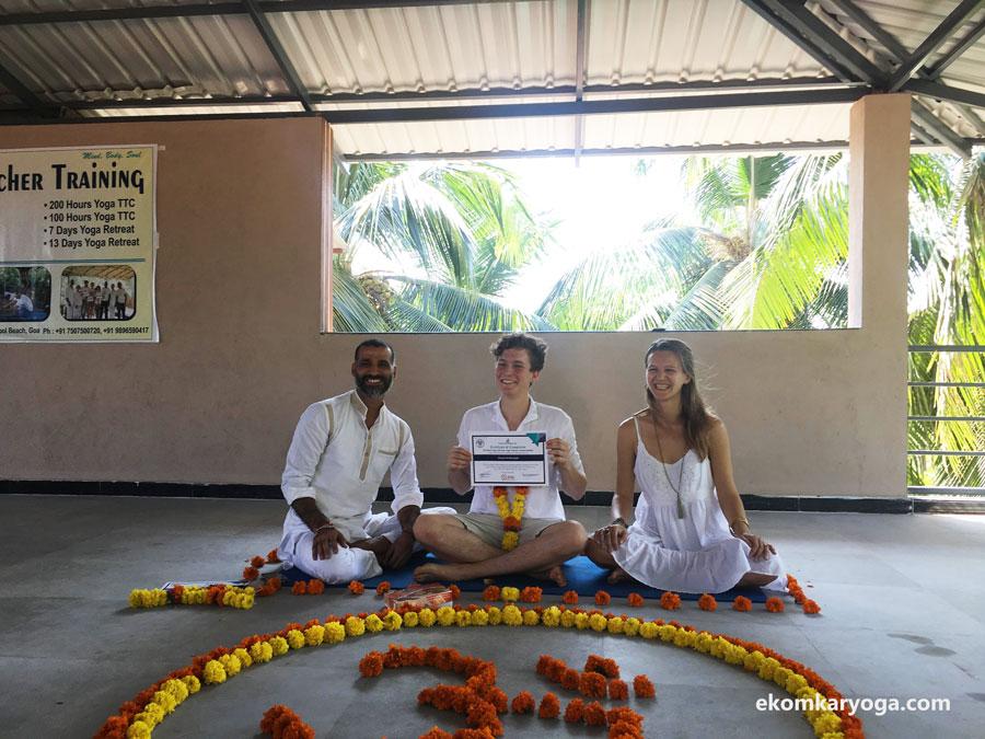 Yoga Teacher training Goa review by David Ambrosiak