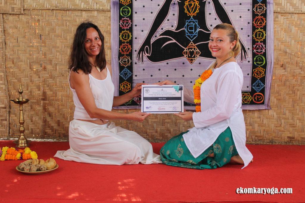 ek omkar yoga ttc graduation pics